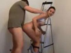 Heisser Sex mit einem Handwerker
