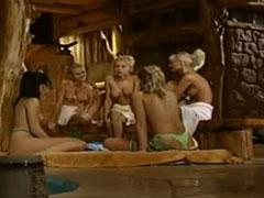 Sex Orgie mit heissen Blondinen