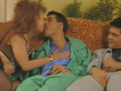 Geiler deutscher Vintage Gruppensex Porno