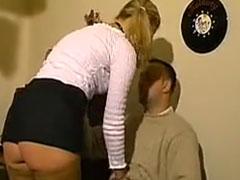 Die Freundin in den Arsch gefickt