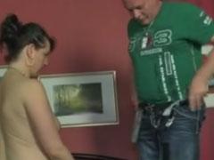 Fetter Kerl fickt seine fette Ehefrau