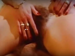Langer deutscher Vintage Porno mit haarigen Fotzen