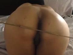 Den Arsch versohlt und gefickt