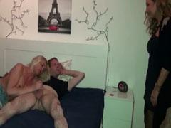 Ficken zu dritt im geilen deutschen Amateur Porno